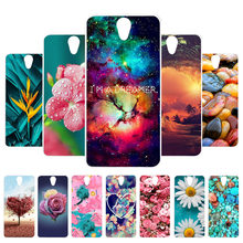 3D DIY Case For Lenovo Vibe S1 Lite Case Silicon Painted Cover For Lenovo S1La40 S1C50 S1A40 Case Back Fundas Coque Housing Bag(China)