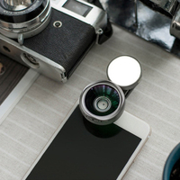 2018 Universal Portable Mobile Phone Macro wide angle lens 2in1 Camera Clip LED Lenses For iPhoneX 8 7 6s 6 Selfie Flash Light