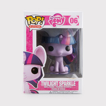 1pcs Funko POP 2 Styles My Cute Lovely Little Horse Poni Doll Action Figure 9cm Collection Model Toy Gift anime model