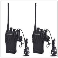 2 adet/grup baofeng BF-K5 UHF 400-480MHz taşınabilir iki yönlü telsiz alıcı BAOFENG walkie-talkie kulaklık amatör amatör radyo