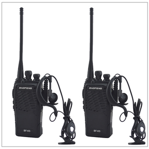 Image 1 - Портативная двухсторонняя рация baofeng, Любительская рация, 2 шт./лот, UHF 400 480 МГц, приемопередатчик, Любительская рация BAOFENG