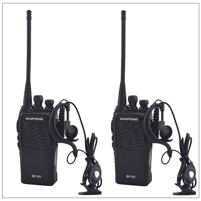Портативная двухсторонняя рация baofeng, Любительская рация, 2 шт./лот, UHF 400 480 МГц, приемопередатчик, Любительская рация BAOFENG