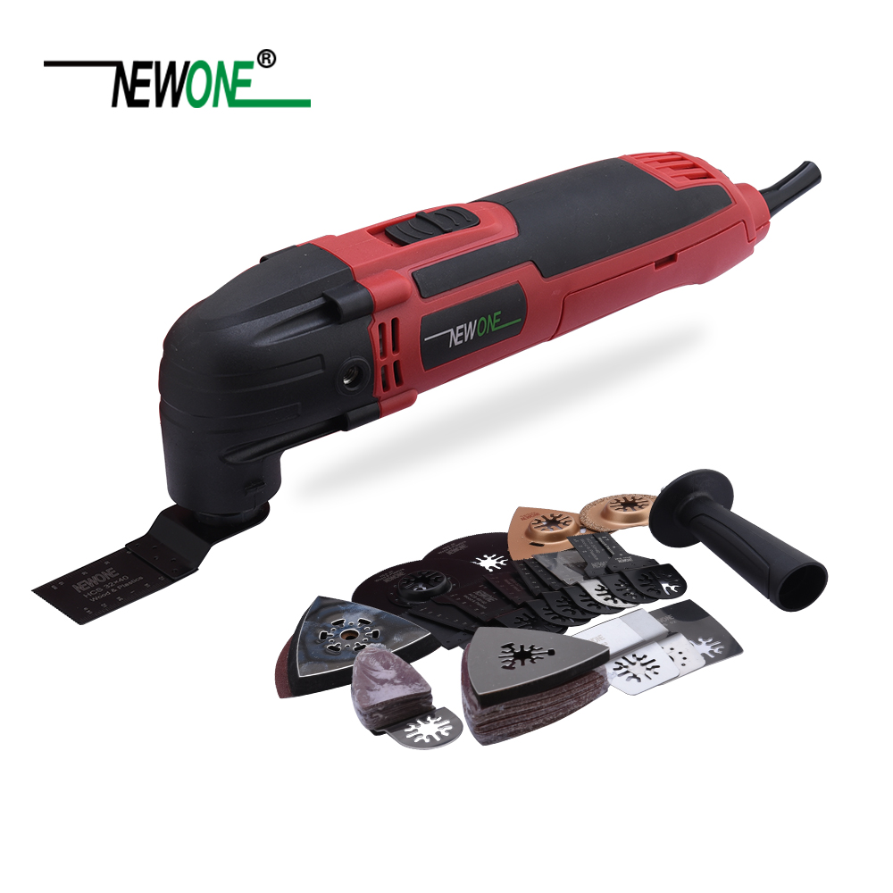 300W Multi Power Electric trimmerSaw Power Tool 66pcs Renovator Multimaster Oscillating Tools