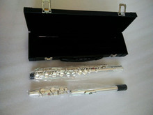 New Flute Brand Flute L&K Silver Plated 16 Closed Holes flute C Key Flute with Case and Accessories