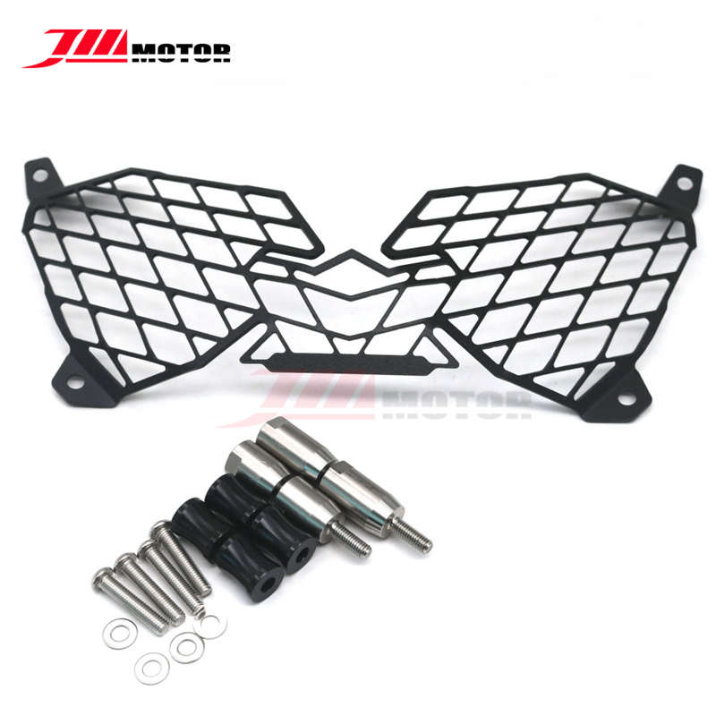 Motorcycle Modification Headlight Grille Guard Cover Protector For YAMAHA XTZ1200 XT1200Z XT 1200 Z Super Tenere кофры komine