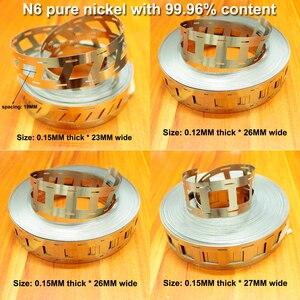 Image 2 - 1 kg 99.96% 순수 니켈 18650 전원 리튬 배터리 특수 니켈 시트 n6 순수 니켈 시트 스폿 용접 니켈 시트