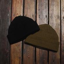 цена на WW2 USAF A-4 WATCH CAP 80% Wool WW2 Replica A4 Winter Warm Knit Thick Cap Vintage Military Outdoor Hat Skateboard Street Dance