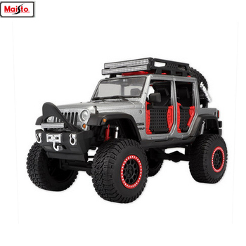 Maisto 1:24 Jeep-Wrangler manufacturer authorized simulation alloy car model crafts decoration collection toy tools maisto 1 24 ford raptor manufacturer authorized simulation alloy car model crafts decoration collection toy tools