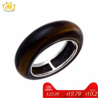 Tiger Eye Solid 925 Sterling Silver Jewelry Fine Womens And Mens Ring