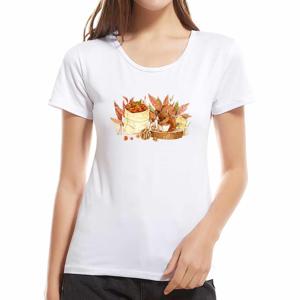 الصيف القطن قميص المرأة 2019 جديد الإبداعية المطبوعة الأبيض قصيرة الأكمام فضفاضة قصيرة الأكمام قميص الوالدين والطفل الأم A501