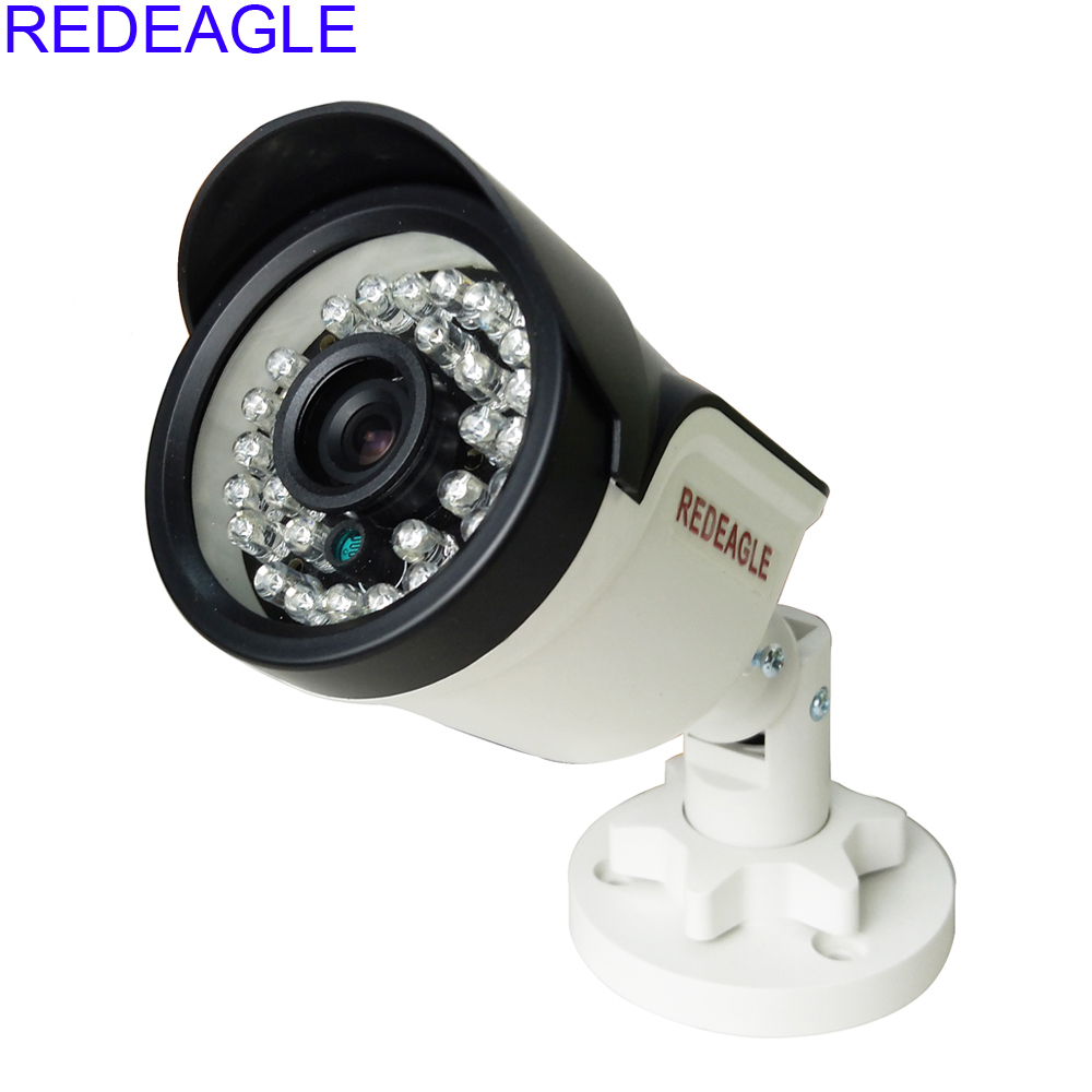 REDEAGLE 720P 960P HD AHD Security Camera 30 LED IR-Cut Filter Indoor Outdoor Bullet Video Surveillance For CCTV AHD DVR owlcat indoor bullet cctv camera guard wall mount plastic housing shield with bracket for video surveillance security cameras