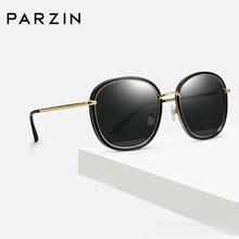 PARZIN 2019 Trending Fashion Brand Sunglasses Women Round UV400 Polarized Beach Sun Shade