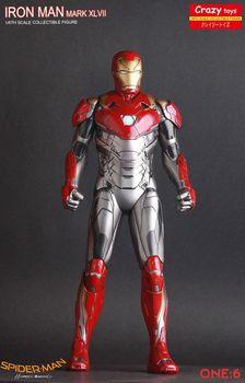 Ironman Mark XLVII Mk47 1/6 scale Iron Man Crazy Toys Action Figure