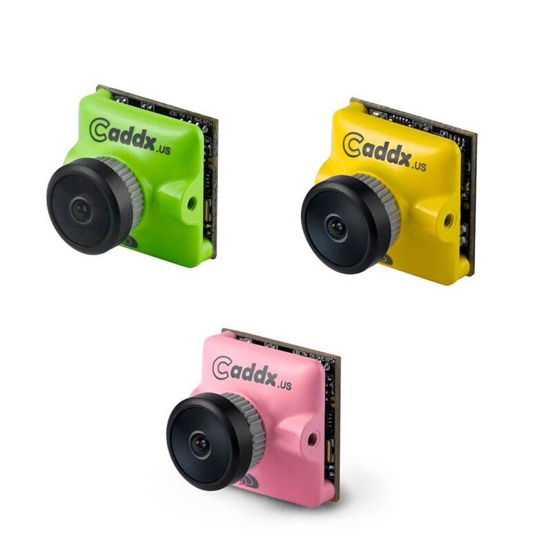 Caddx Turbo Micro F2 1/3 CMOS 2.1mm 1200TVL 16:9/4:3 NTSC/PAL Faible Latence Mini FPV caméra 4.5g Pour RC Modèles de Mise À Niveau Caddx F1