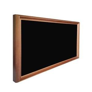 Image 5 - 49 pulgadas marco de madera maciza digital publicidad reproductor marco de fotos electrónico para museo de arte