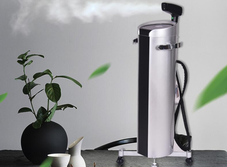 Hair Salon Blue Light Nano Spray Treatment Machine Hair Rehydration Apparatus Evaporator Hair Salon Hot Dye Care Machine.