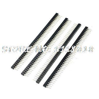 Male to Female 2mm Pitch 40 Pins IC Socket Connector 4 Pcs