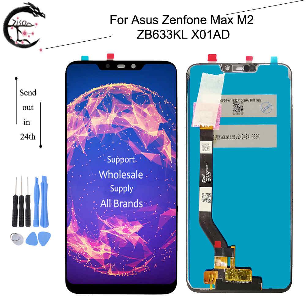 6.3 pouces nouveau LCD pour Asus Zenfone Max M2 ZB633KL X01AD LCD écran tactile panneau numériseur assemblée pour ZB633KL affichage
