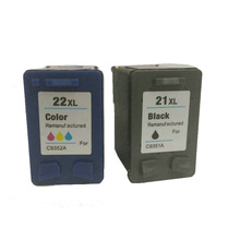 vilaxh 21 22 xl Compatible Ink Cartridge Replacement for hp 21xl 22x Deskjet F2280 F380 F2100 F2240 F2180 D2360 Printer