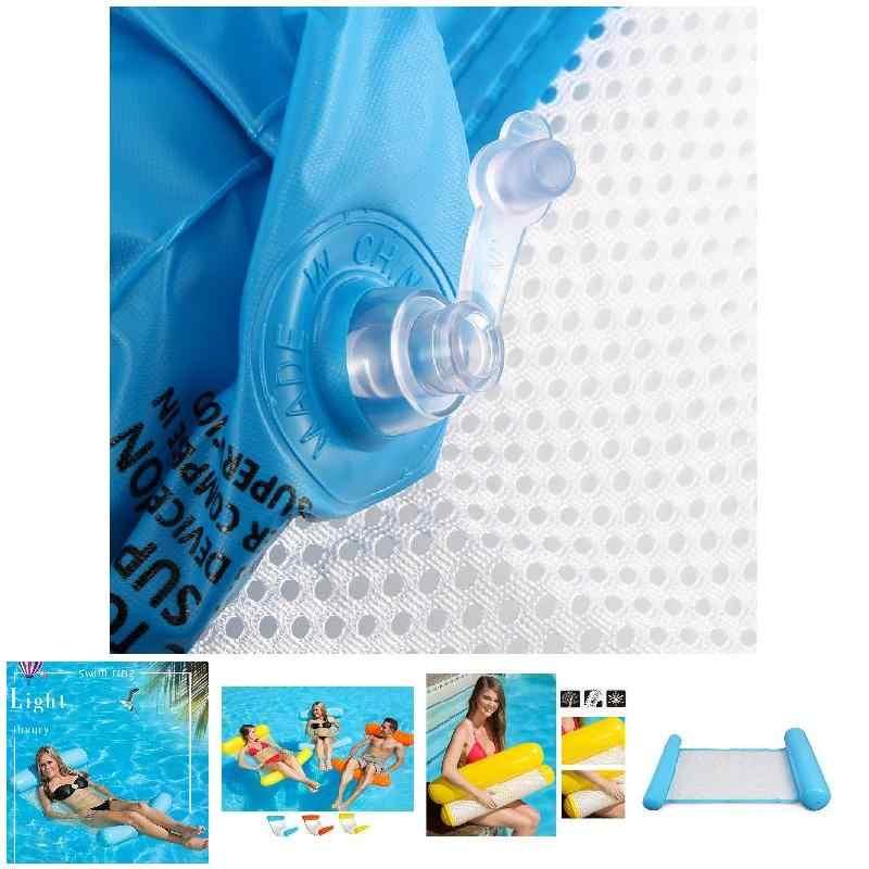 Надувной водный гамак плавающая кровать Кресло для отдыха Drifter плавательный бассейн пляж поплавок для взрослых MC889