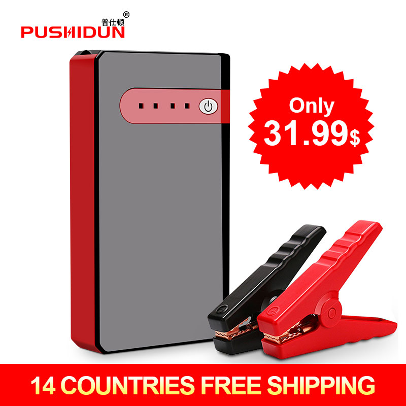 Car Battery Booster Car Jump Starter Portale Emergency Multi-functional Vehicle Battery Power Bank Charger new 50800mah 12v portable car jump starter booster charger battery power uk vehicle engine booster emergency power bank page 7