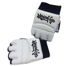 Kyokushin Kai каратэ перчатки высокого качества Боевая защита для рук боевое искусство тренировки Каратэ протектор белого оборудования