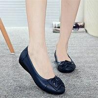 Обувь ручной работы из натуральной кожи на плоской подошве; женская повседневная обувь; женская обувь на плоской подошве; кожаная обувь без ...