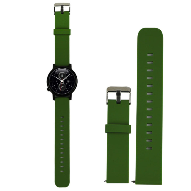 New Arrive Sport Fitness Silicone Watch Band Strap With Steel Buckle For Samsung Galaxy Gear S2 Classic SM-R732 C905