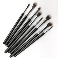 Makeup Brushes Eyeshadow Blending Eyebrow 8PCS Eye Brush Set Concealer Lip Pencil Professional Cosmetic Tool Kit