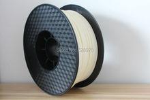 High strength 3D printer filament 1.75mm/3mm ABS natural wholesale 3d print pen plastic Rubber Consumables Material makerbot/up