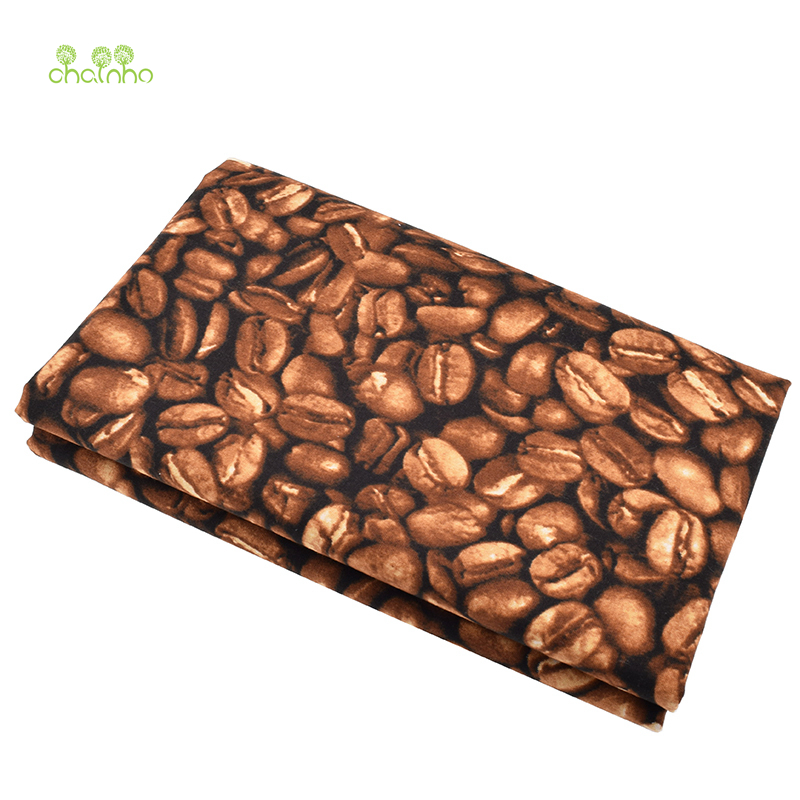 Cotton Canvas Fabric For Handmade Fabrics Cloth For Sofa Curtain Bag Shoes Home Decoration Material Coffee Tissue Half Yard