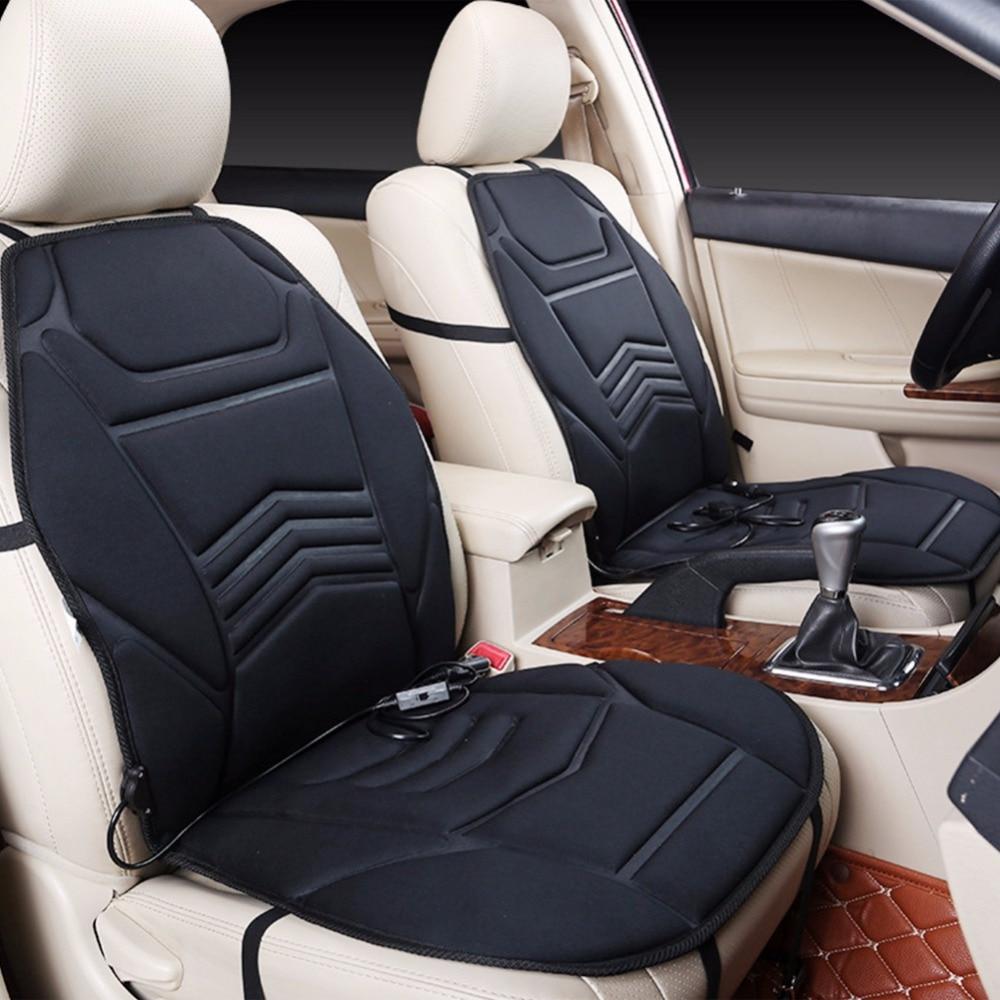 Winter Universal 12v Electric Heated Heatting Car Seat Warmer Cushion Cover Pad C45