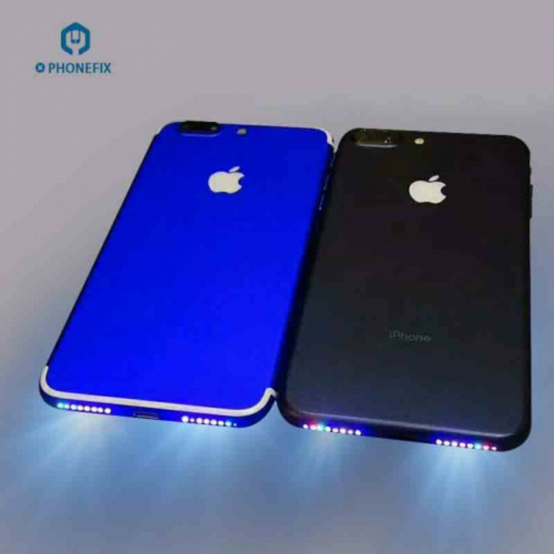 Colorful Glow Loud Speaker Lamp For IPhone Loud Speaker Glow Light Music Hole Shinning Flex Cable For IPhone 6 6P 6S 6SP 7 7Plus