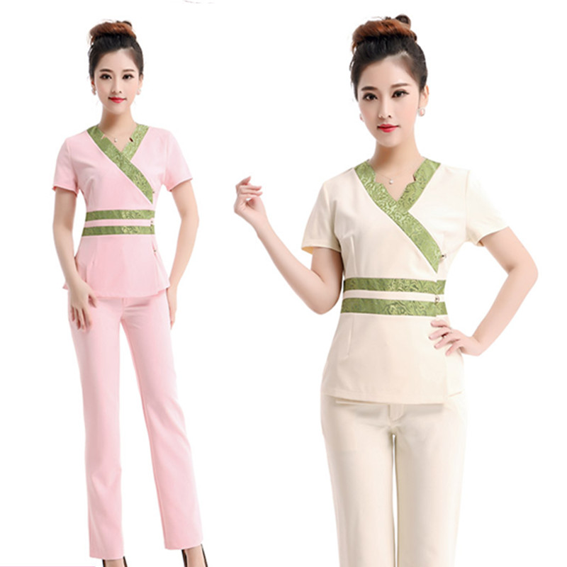 2016 free shipping summer styles thai spa massage for Spa uniform policy