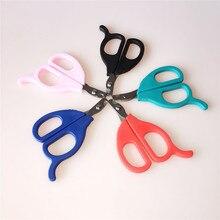 Разные цвета Нержавеющая сталь Pet Ножницы для ногтей Триммер ножниц инструменты Toe коготь резец края кошки