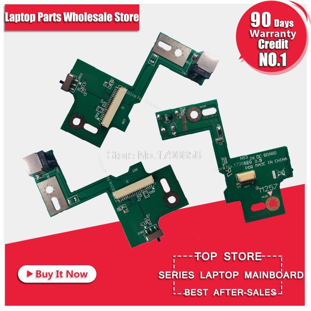 Prise D'alimentation CC Conseil Carte USB Pour ASUS N53 N53S N53J N53TA N53TK N53T N53D N53SM N53DA N53JF N53JN N53SN n53JG Livraison Gratuite