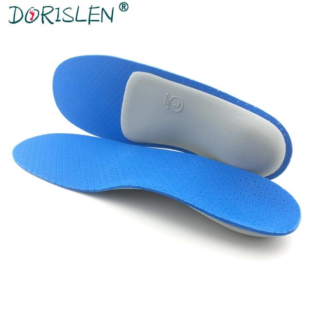 f1ca961ccf DORISLEN Support Orthopedic Insoles Flat Foot 3D Breathable Heel Pain  Relief XS-XL