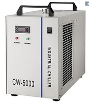 레이저 튜브 및 스핀들 ac220v 용 물 냉각기 cw5000