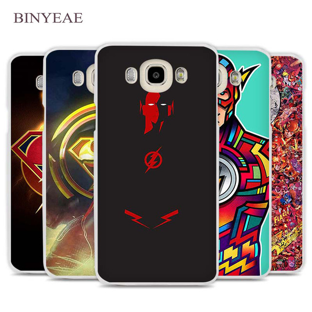 US $1 91 34% OFF|BINYEAE The Flash man posters Phone Case Cover for Samsung  Galaxy J1 J2 J3 J5 J7 C5 C7 C9 E5 E7 2016 2017 Prime-in Half-wrapped Case