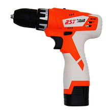 hot deal buy bst+plus(one style) 16.8v lithium battery 2 speed cordless drill mini drill hand tools electric drill power tools screwdriver