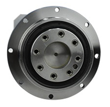 Flens Uitgang Planetaire Versnellingsbak Reducer 3 Arcmin Verhouding 4:1 10:1 Voor NEMA23 Stappenmotor Input As 8Mm