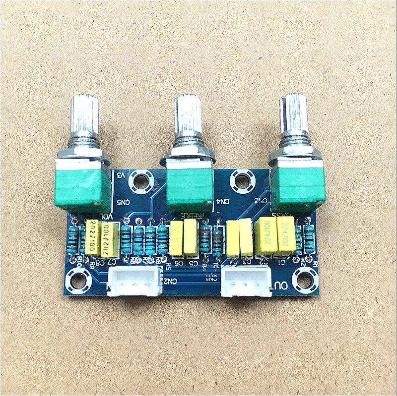 Livraison gratuite XH-M802 carte passive, panneau avant, panneau avant, panneau de tonalité, basse élevée, HIFI, grade fièvre