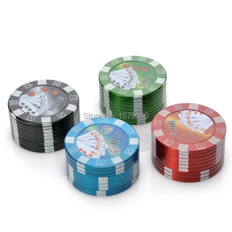 Velkoobchodní novinka HOT Metal Tobacco Herb Spice Kasino Poker Chip - Výrobky pro domácnost