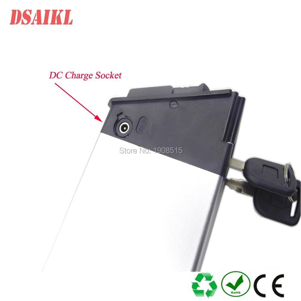 36V 8Ah 9Ah 10Ah 12Ah 12.5Ah bateria escondida com carregador