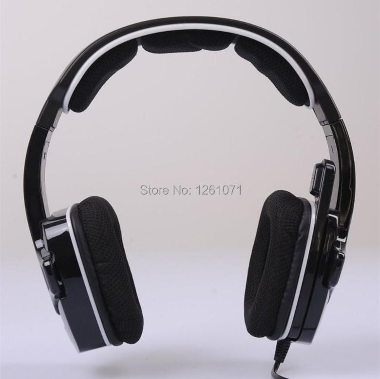 ФОТО Professional Gaming Headset Game Headphones earphone USB 7.1 Surround Sound for WCG Esports LOL DOTA CS CF PS4 PS3 Xbox360