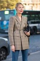 AEL Women Winter Autumn cotton material Suit Jacket 2017 Grace Female Coat Fashion Clothing