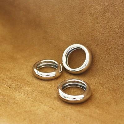 Europeu de Metal Frio Vento Anel de Cobre, 3 tamanho Para Escolher anelli anel Charme anel aneis bague anillos mujer bisuteria anel feminino