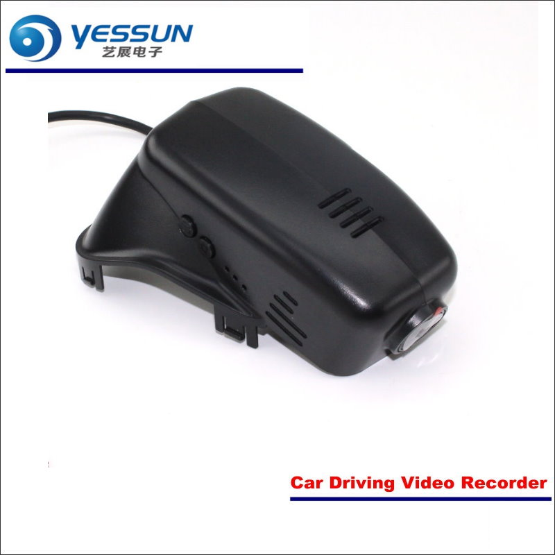 YESSUN Car DVR Driving Video Recorder For Volvo S60 Front Camera Black Box Dash Cam Head Up Plug OEM 1080P WIFI APP Song IMX323 liislee for volvo s60 2012 2013 car black box wifi dvr dash camera driving video recorder novatek 96655 fhd 1080p
