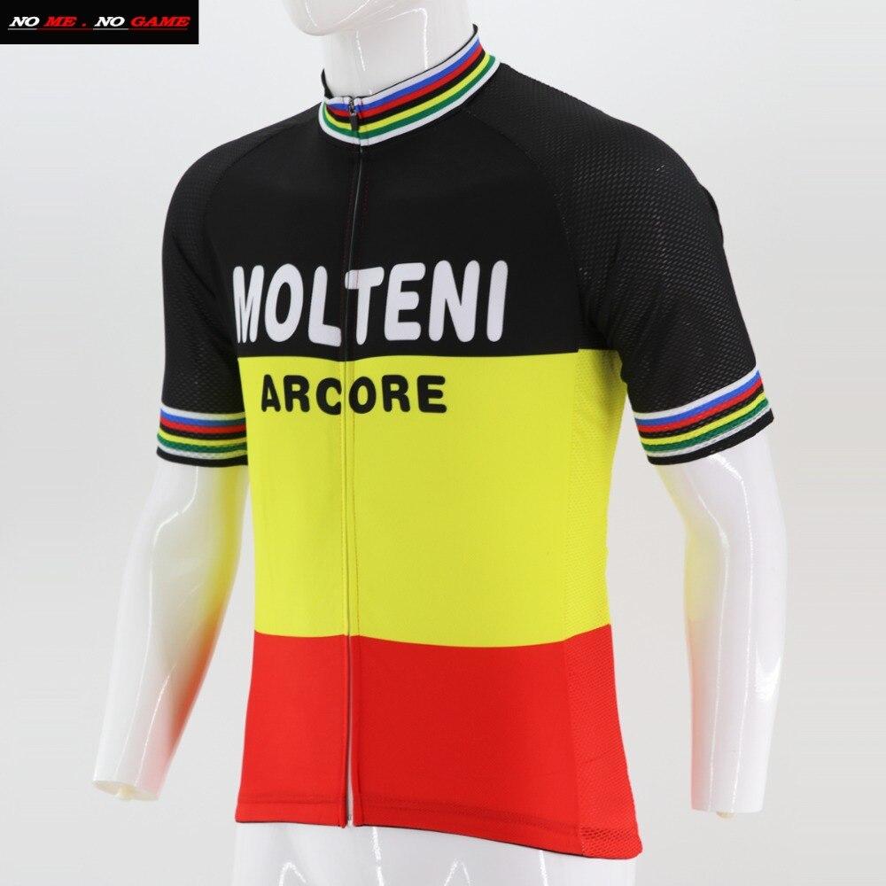 2017 Men cycling jersey set yellow clothing bike wear road mountain maillot