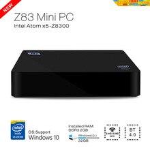 NEW high quality network set-top box Intel MINI PC HTPC with WIFI HDMI RJ45 USB Bluetooth Windows10